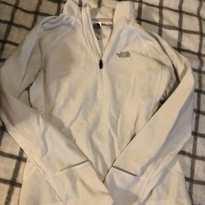 North Face half zip